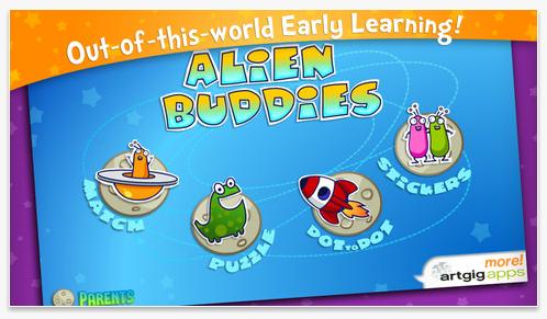 Alien Buddies Pre-School App