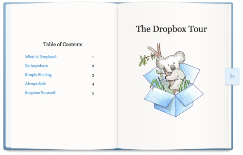 Free Dropbox Space for taking the Dropbox Tour