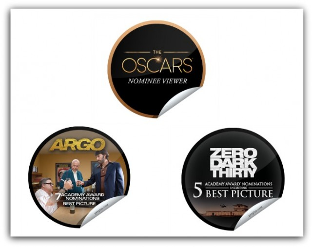 Get Glue Oscars Stickers