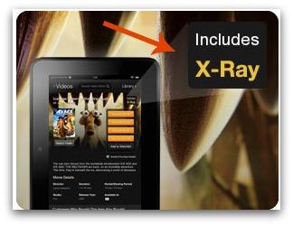 Amazon Instant Videos X-Ray