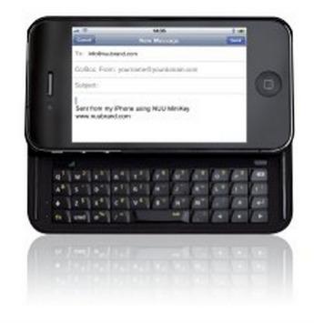 iPhone 4/4S Keyboard Case