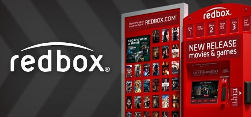 Redbox Rent DVD's and Games