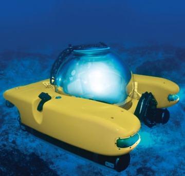 Hammacher Schlemmer submarine