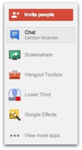 Google Hangout Tools