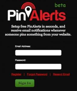 PinAlerts Pinterest