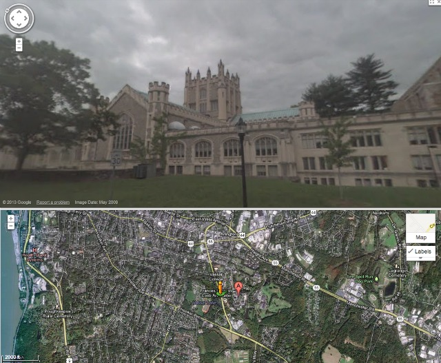 Google University Street View Tours