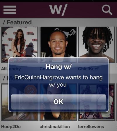 Hang W/ notifications