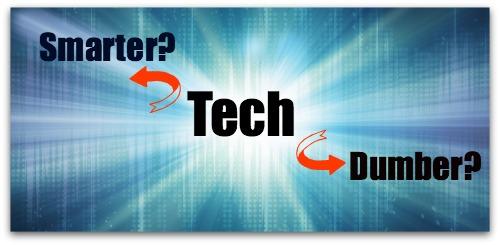 Tech's Effects on Intelligence