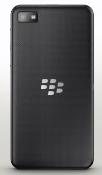 BBerry Z10 Back Logo