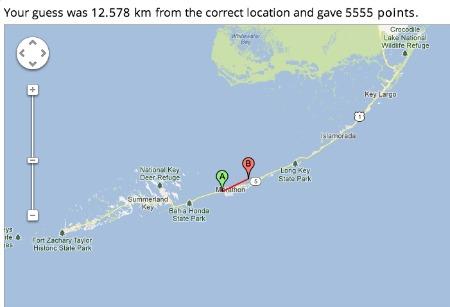Geo Guessr Map