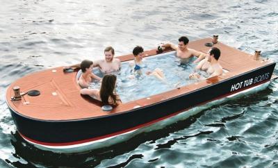 Hottub boat
