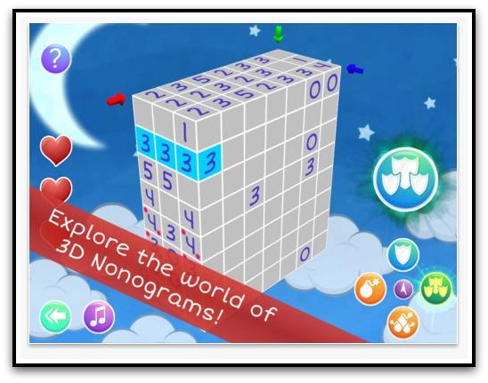nonocube puzzle game