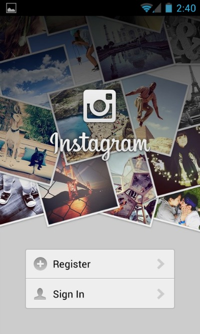 Instagram Registration