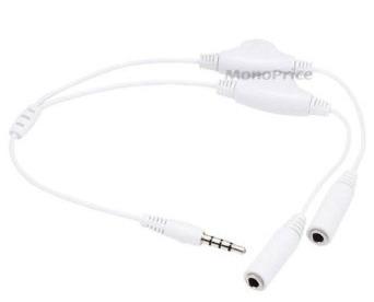 Headphone doubler