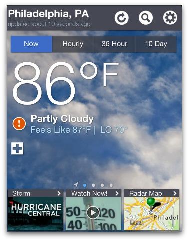 the weather channel desktop 6