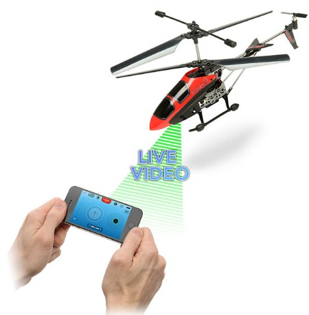 Wi-Spy Remote Control Helicopter