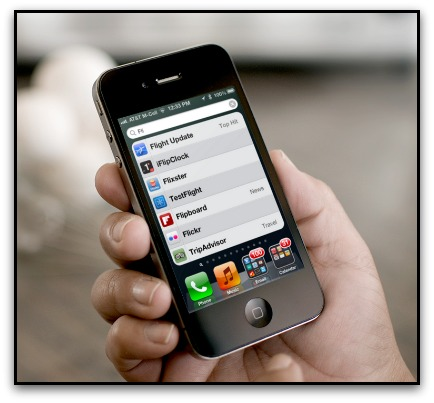 Spotlight Search iOS