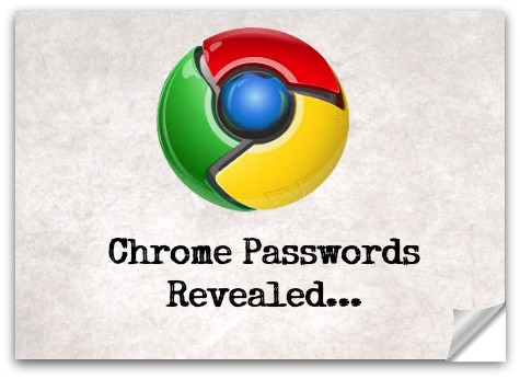 Chrome Passwords Show