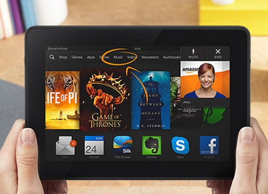 Kindle Fire HDX MayDay support