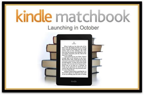 Kindle Matching Print Books