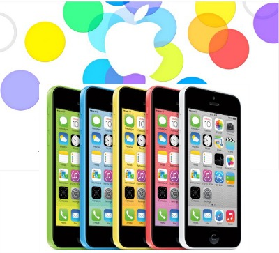 Apple iPhone 5c colors