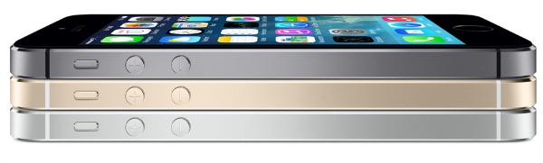 iPhone 5s color choices