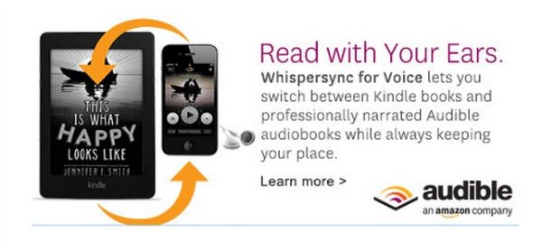 Kindle Audible Whispersync for Voice