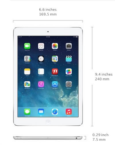 iPad Air Silver