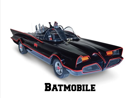 Authentic Batmobile Tech