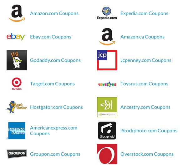 Stores with Coupons at Checkout