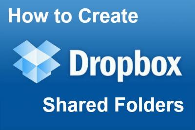 Dropbox Shared Folders Logo