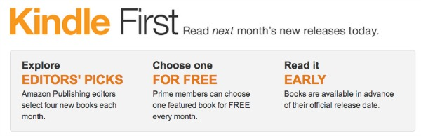 Kindle ebooks prepublication date