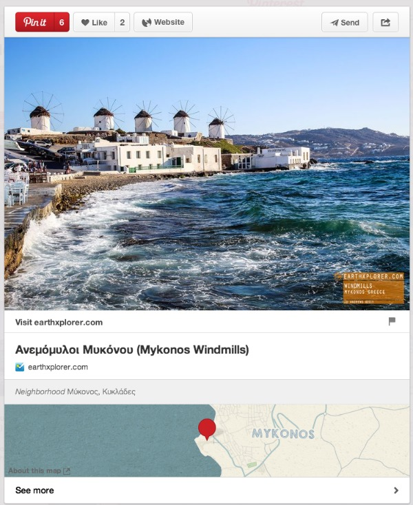 Travel with Pinterest