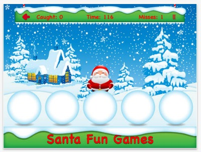 Santa Fun Games iTunes