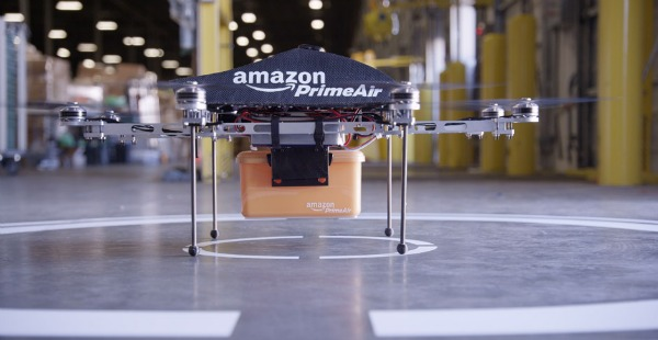 Amazon Delivers Via Drones