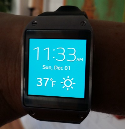 Galaxy Gear Colored Watch Faces