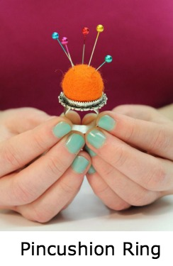 Pincushion Ring on Pinterest