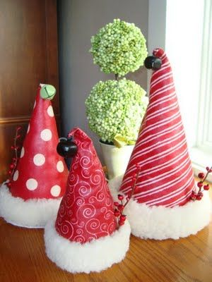 Santa Hats DIY crafts