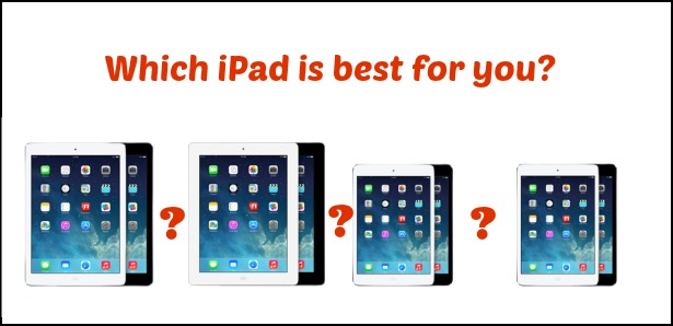 Choosing the best iPad for You
