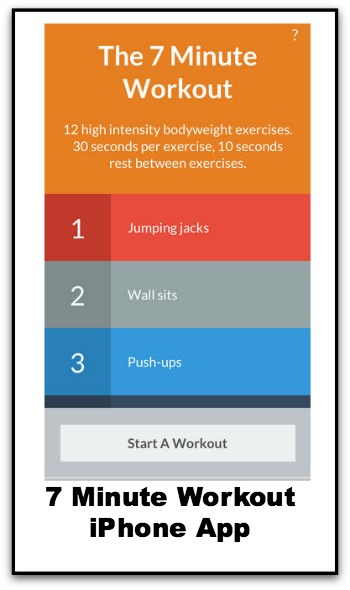 7 Minute Workout iPhone App