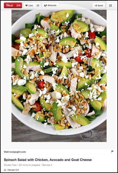 Pinterest Salad Recipes