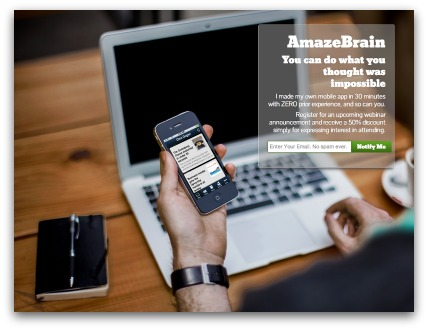 Amaze brain app development
