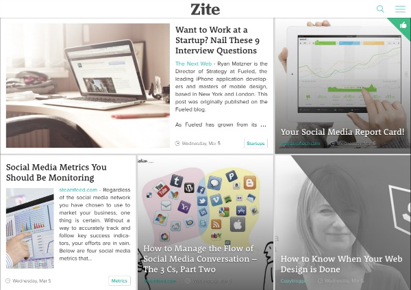 Zite Articles