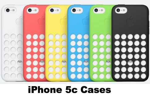 iPhone 5c Colored Cases