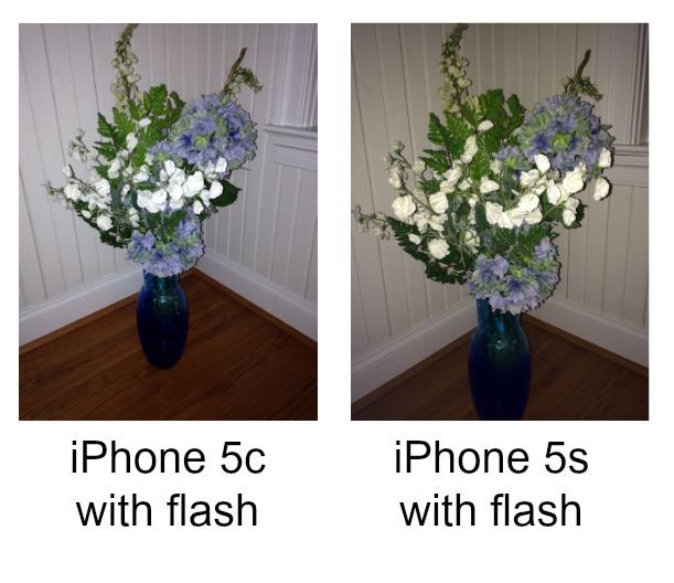 Indoor Flash IPhone 5s Vs 5c