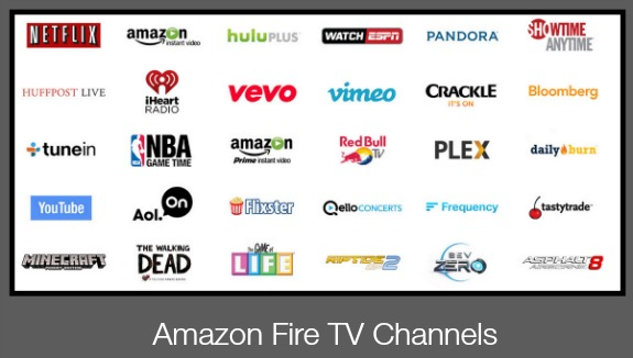 TV Apps Amazon Fire