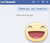 Facebook Stickers Lori Gosselin