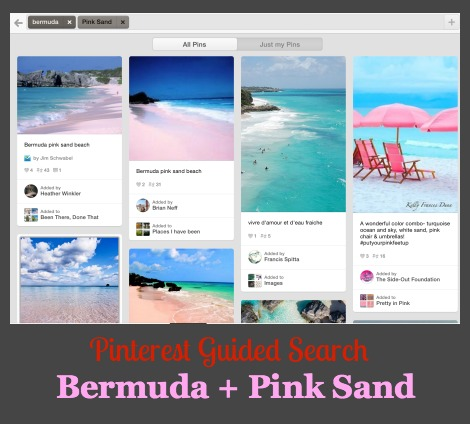 Pinterest Guided Search Inspiration