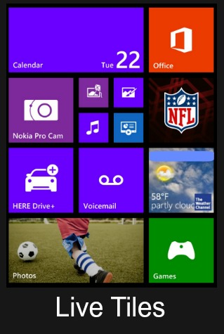 Nokia Lumia Icon Live Tiles