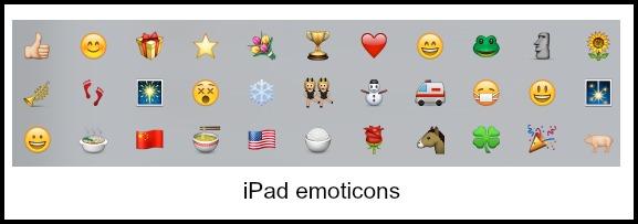 iPad Emojis